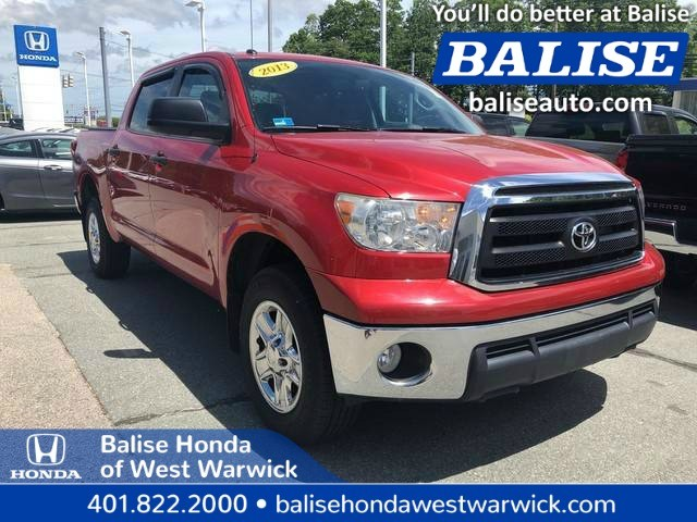 Pre-Owned 2013 Toyota Tundra 4WD Truck CrewMax