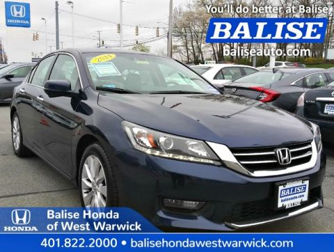 Pre-Owned 2014 Honda Accord Sedan EX-L w/Navi